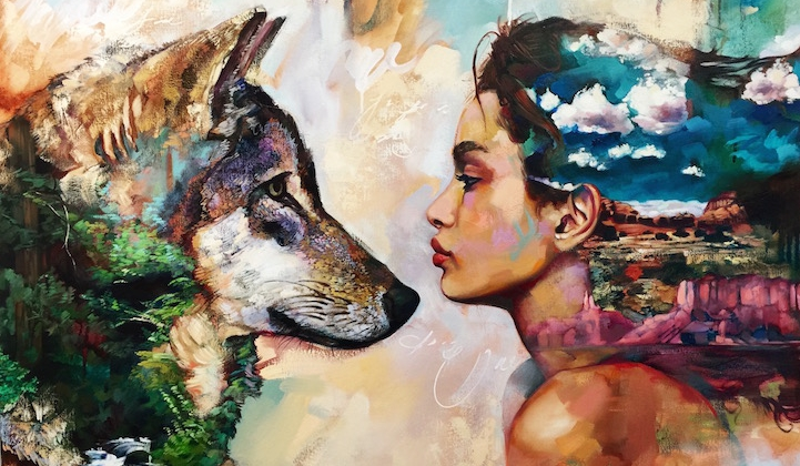 cette jeune artiste de ans a un talent incroyable et peint des toiles absolument fantastiques