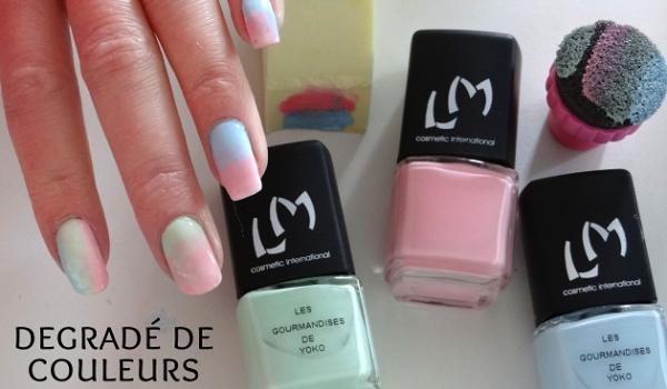 Tuto nail art pour les débutantes  comment faire un joli dégradé sur ses  ongles ?