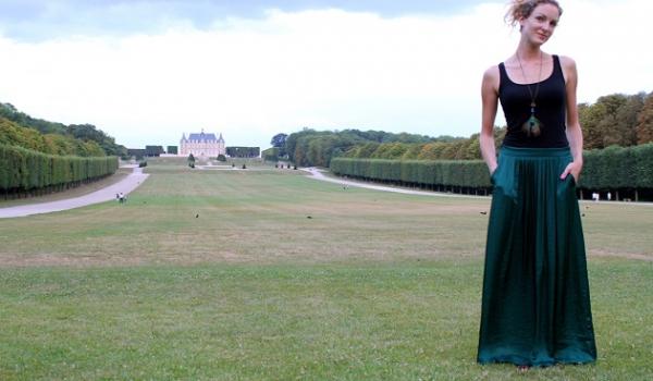 La jupe longue comment bien la porter so busy girls - Quel haut porter avec une jupe longue ...