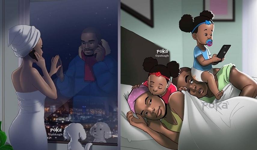 15 Illustrations Adorables Dans Lesquelles Tous Les Couples Amoureux Vont Forcement Se Retrouver So Busy Girls