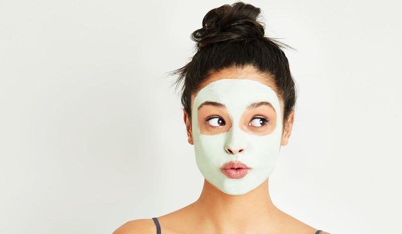 masque routine visage