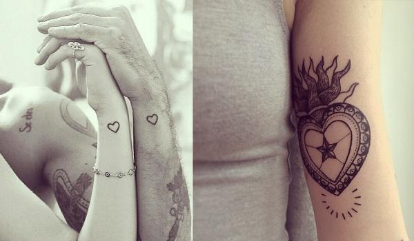 48 id es de tatouages coeur tellement mignons que vous - Petit coeur tatouage ...
