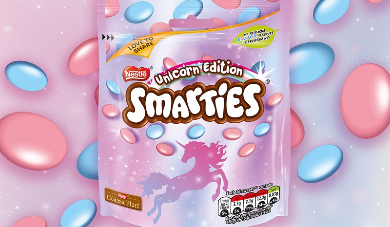 smarties licorne