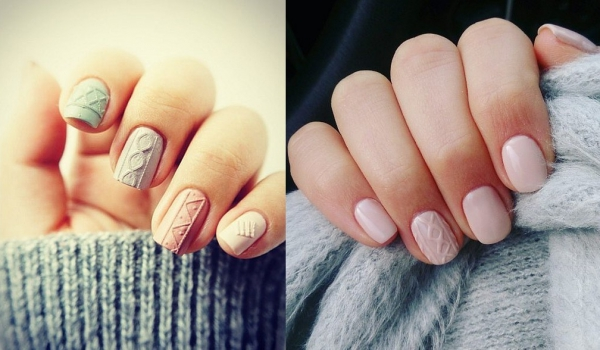 20 nail arts cocooning pour l'hiver