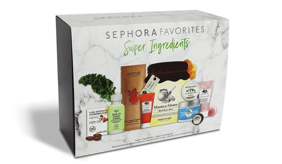 style populaire différents types de comment trouver Sephora lance sa box Super Ingredients pour une belle peau ...