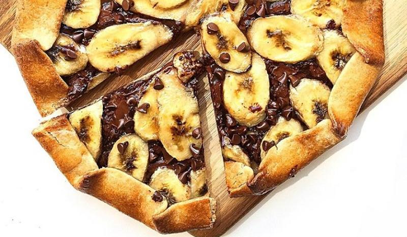 La Recette De La Tarte Chocolat Banane Maison Facile A Faire Et Prete En 30 Minutes So Busy Girls