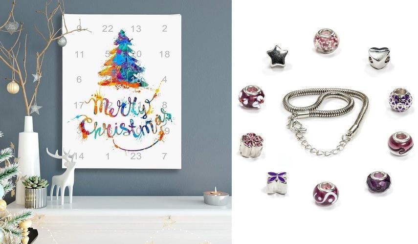 Ce calendrier de l'Avent rempli de bijoux est idéal pour les femmes coquettes