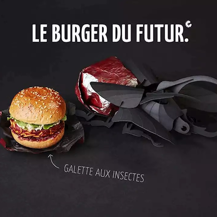 FoodChéri lance le « burger du futur » à base d'in...